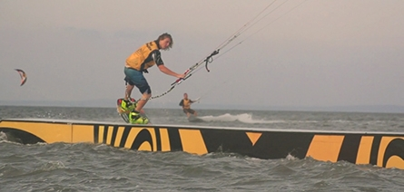 Magic at Rail Masters Kite Jib Contest